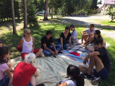 Először szerveztek tábort erdélyi látássérülteknek és családtagjaiknak