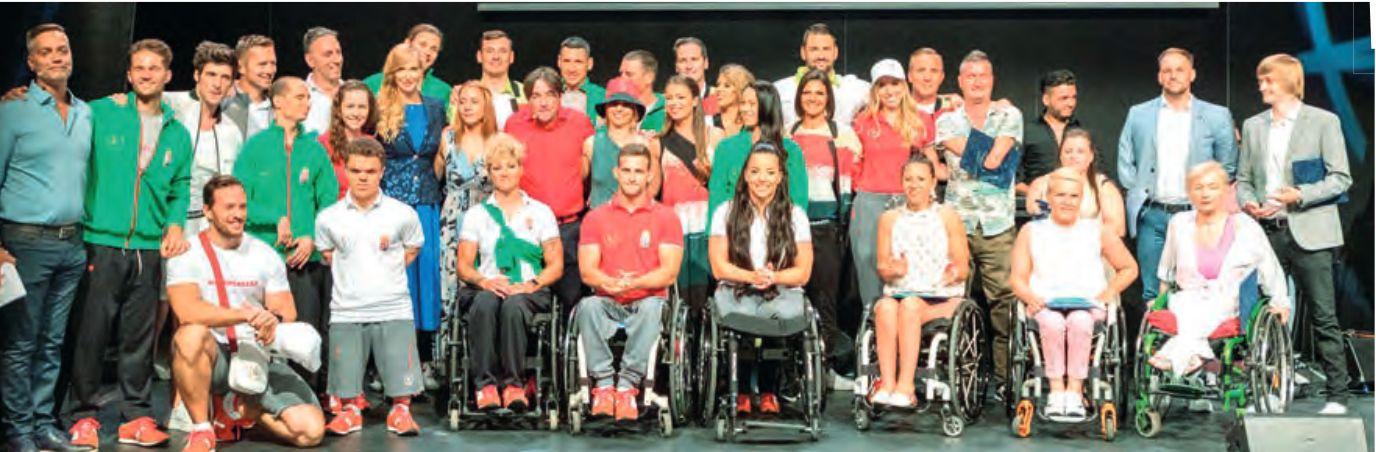 Paralimpia csapat 2021